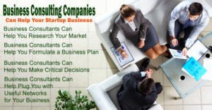 How Business Consulting Companies Can Help Your Startup