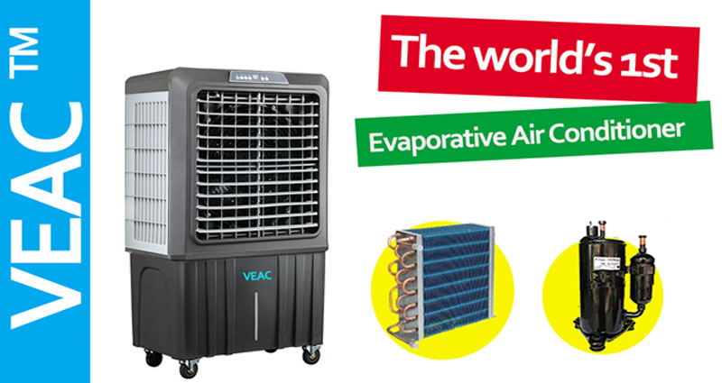 Air Cooling by Evaporation Of Water (Evaporative Air Cooler)